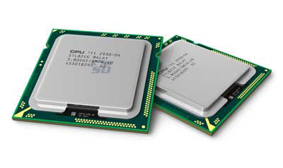 همانطور که احتمالاََ حدس میزنید پردازنده های 2 هسته ای از CPU های تک هسته ای سرعت زیادتری دارند