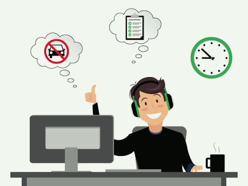 کارکردن بدون استرس