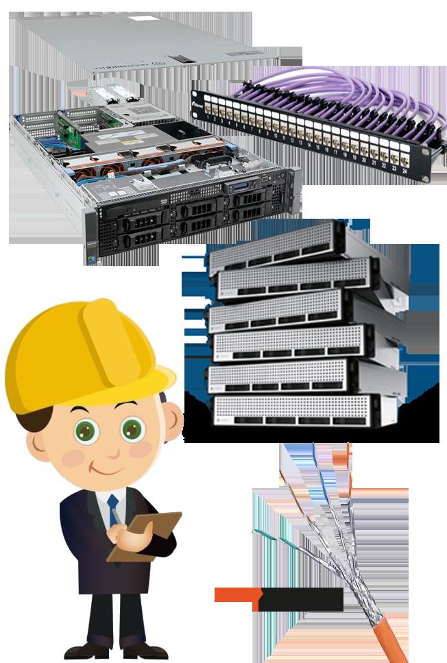 خدمات پشتیبانی کامپیوتر و شبکه