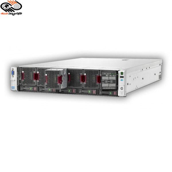 مشخصات فنی مدل سرور : HP ML350 G9 - 8 sff CPU سی پی یو : (CPU E5 4620 v2 x 4 ( 32 core -64 Threads -80m cache تعداد هسته : 32 هسته ای تعداد Cpu : چهارعدد Ram رم : 128GB نوع رم : DDR4 HARD هارد :HDD 900 GB 10k NEW x 3