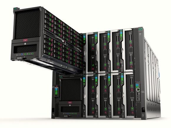 انواع سرورهای HP