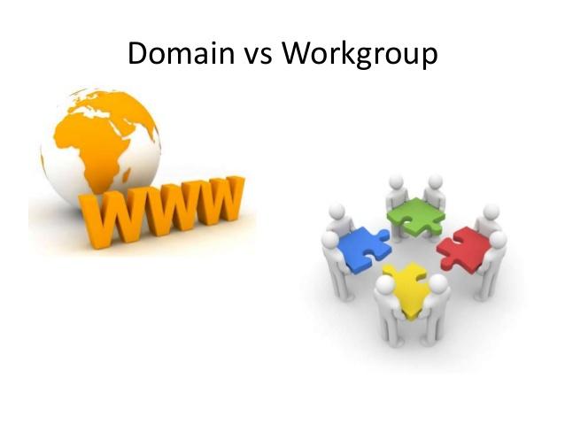 تفاوت های شبکه domain و workgroup چیست ؟