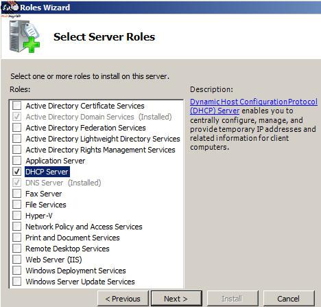 آموزش راه اندازی DHCP Server