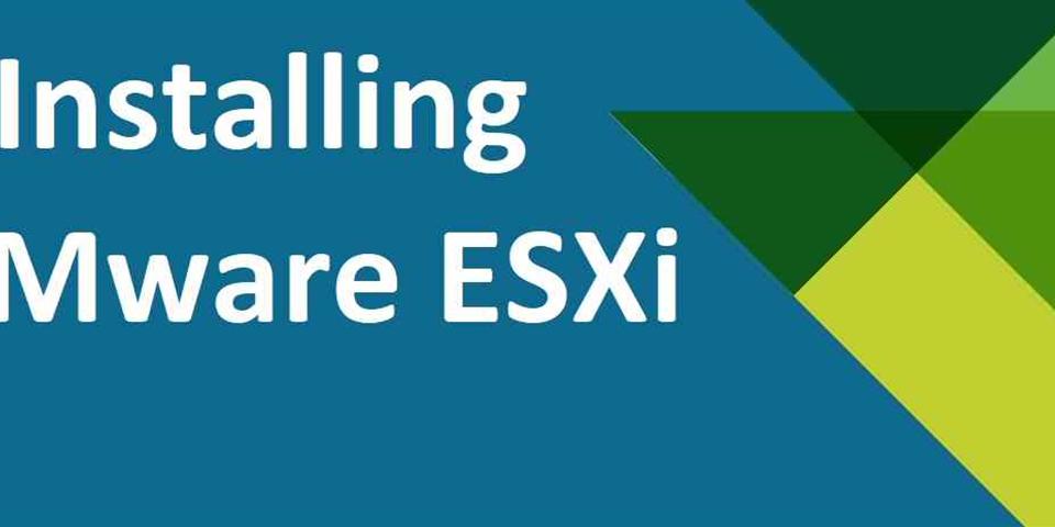 آموزش گام به گام نصب VMware ESXi