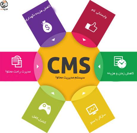 سیستم مدیریت محتوای یا CMS چیست ؟
